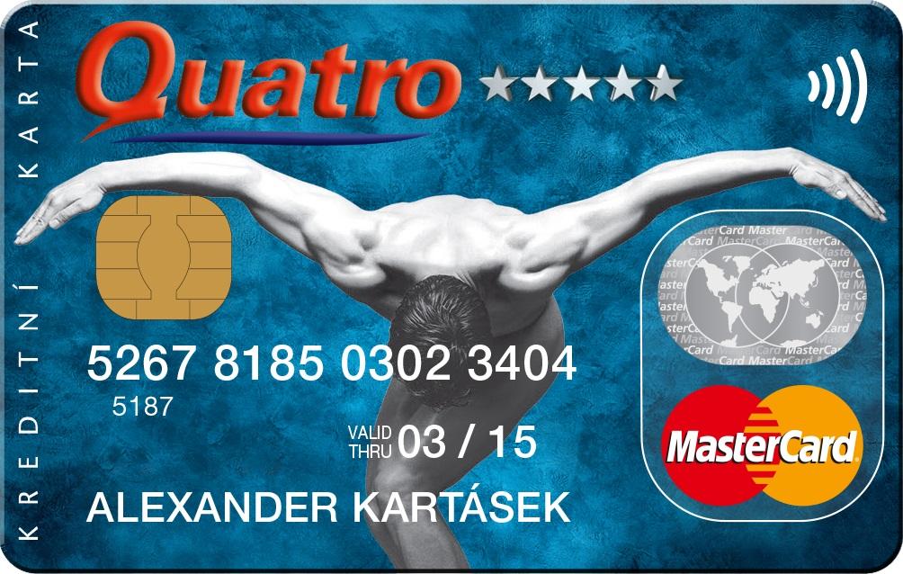 Kreditní karta Quatro
