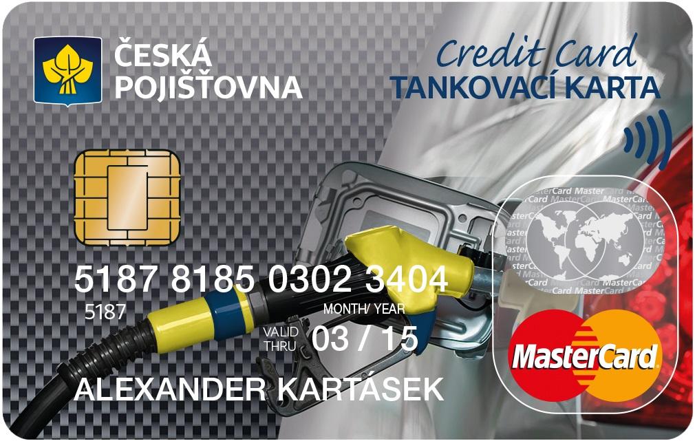 Tankovací karta České Pojišťovny