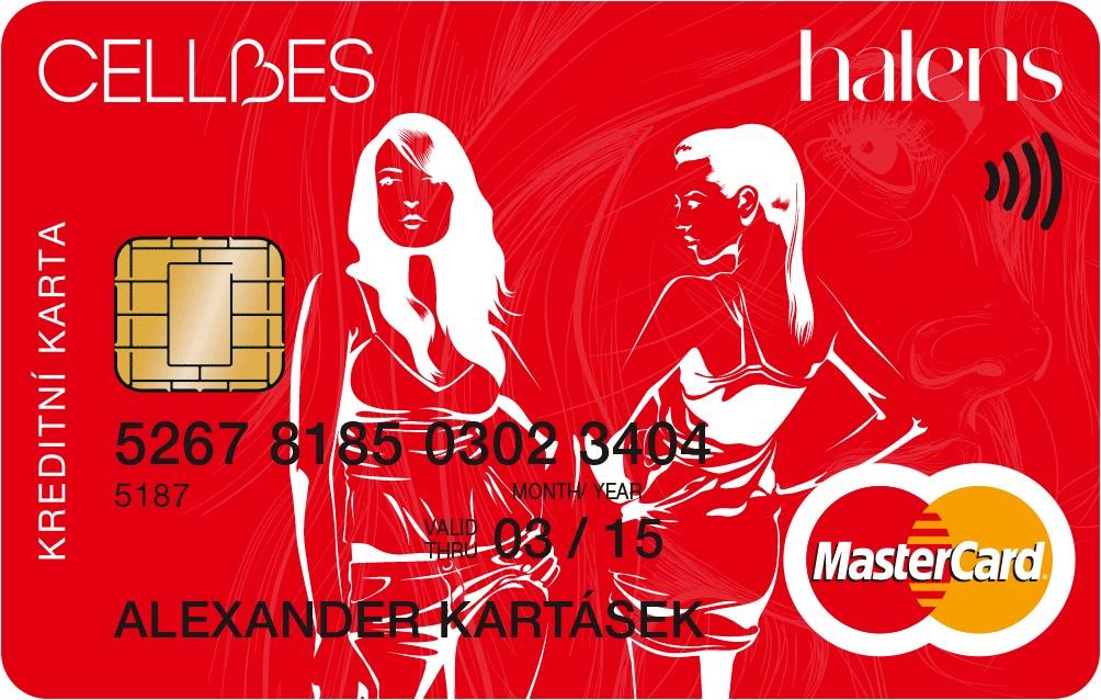 Nákupní karta HALENS/CELLBES