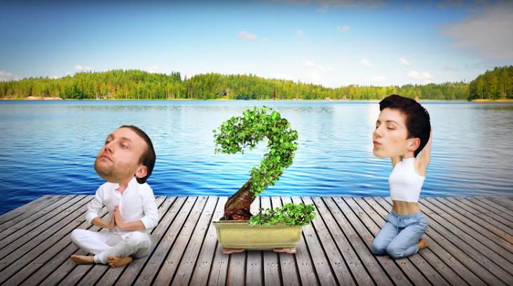 Harmonickí jogíni - kampaň Slovenská požičovňa 2016