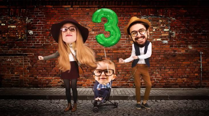 Moderní hipsteri - kampaň Slovenská požičovňa 2016